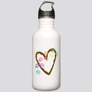 Paw Heart Stainless Water Bottle 1.0L