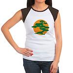 Bonsai Tree Women's Cap Sleeve T-Shirt