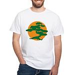 Bonsai Tree White T-Shirt