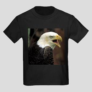 Voiceful Bald Eagle Kids Dark T-Shirt