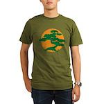 Bonsai Tree Organic Men's T-Shirt (dark)