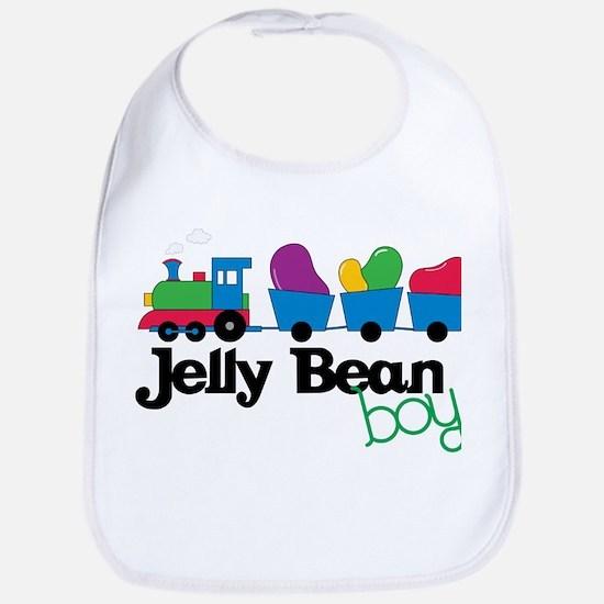 Jelly Bean Boy Bib