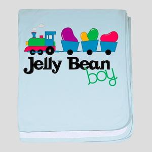 Jelly Bean Boy baby blanket