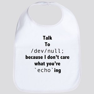 Talk to /dev/null Bib