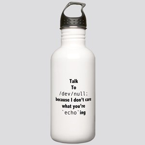 Talk to /dev/null Stainless Water Bottle 1.0L