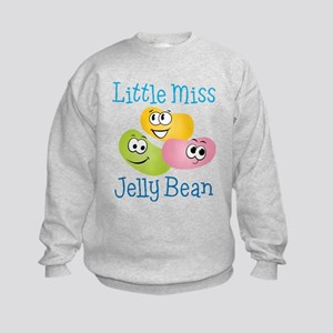 Little Miss Jelly Bean Kids Sweatshirt