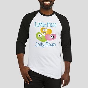 Little Miss Jelly Bean Baseball Jersey