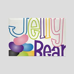 Jelly Bean Rectangle Magnet