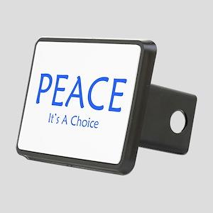 Choose Peace Rectangular Hitch Cover