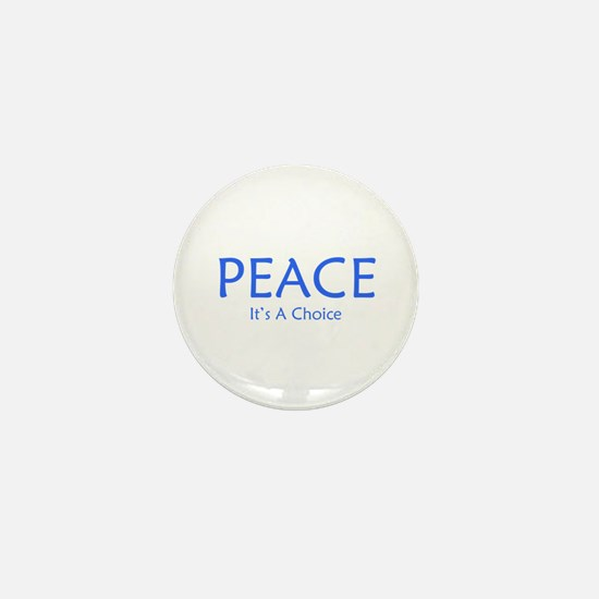 Choose Peace Mini Button