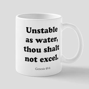 Genesis 49:4 Mug