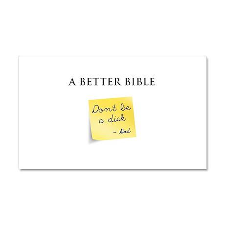 A Better Bible Car Magnet 20 x 12