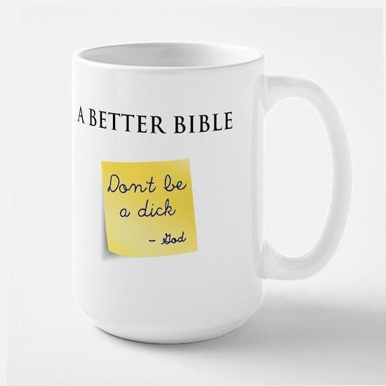 A Better Bible Large Mug
