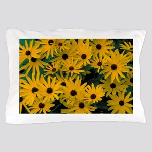 Bunches of tiny Sunflowers Pillow Case