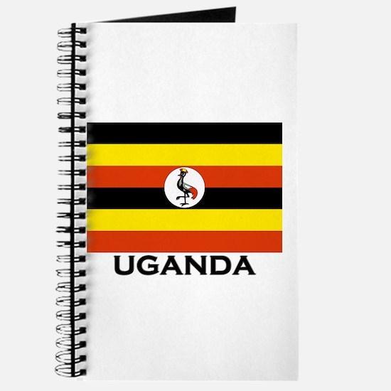 Uganda Flag Merchandise Journal
