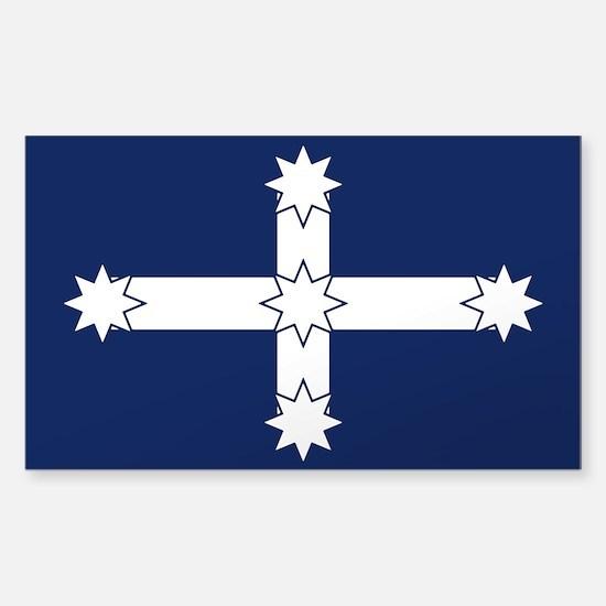 Eureka Flag Of Australia Rectangle Decal
