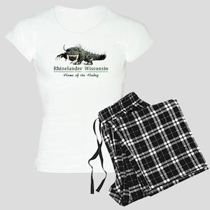 Hodag_Rhinelander Women's Light Pajamas