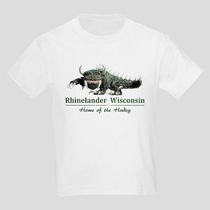 Hodag_Rhinelander Kids Light T-Shirt
