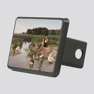 Daydreaming with the Geese Rectangular Hitch Cover