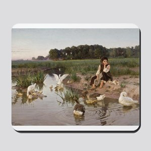 Daydreaming with the Geese Mousepad