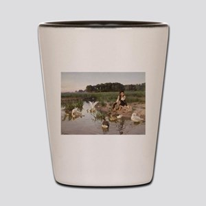 Daydreaming with the Geese Shot Glass