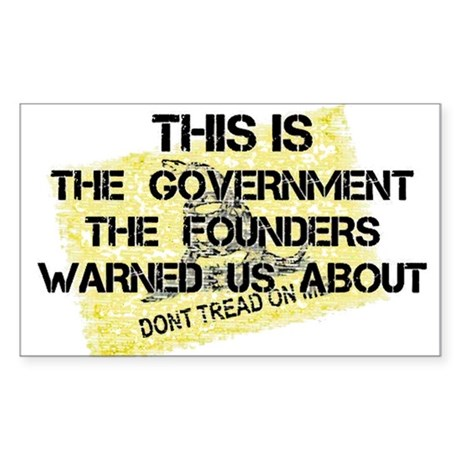 Country Founding Fathers Warned Us About Sticker (