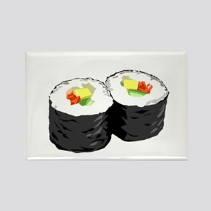 Sushi Rectangle Magnet