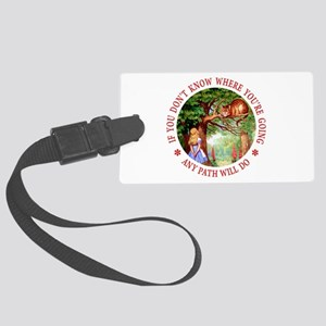 Any Path Will Do Large Luggage Tag