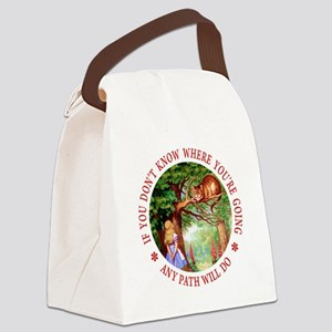 Any Path Will Do Canvas Lunch Bag