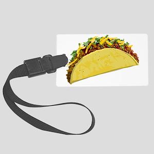 taco Large Luggage Tag