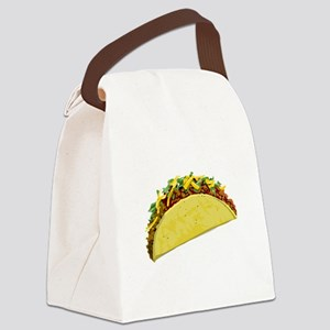 taco Canvas Lunch Bag