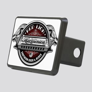 Red Lion Harmonica II Rectangular Hitch Cover
