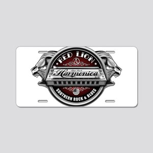 Red Lion Harmonica II Aluminum License Plate