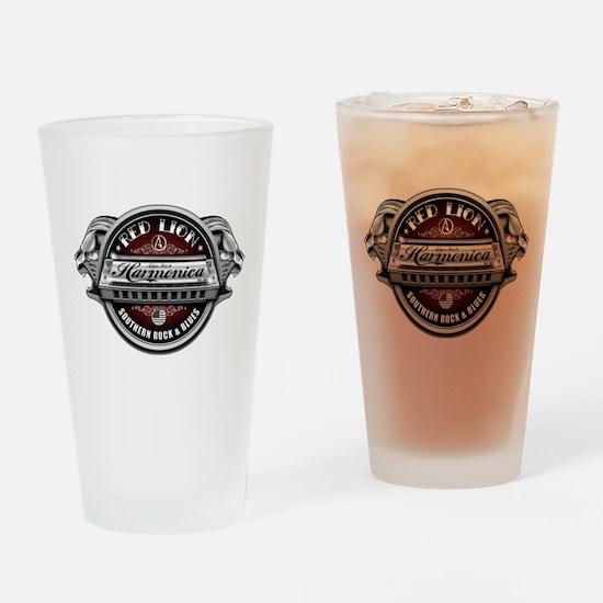 Red Lion Harmonica II Drinking Glass