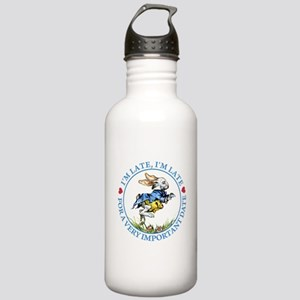 I'm Late, I'm Late! Stainless Water Bottle 1.0L