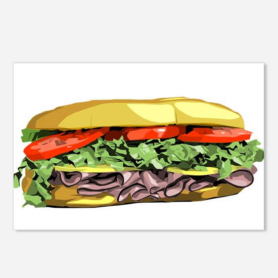 sandwich Postcards (Package of 8)
