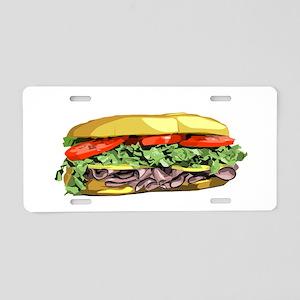 sandwich Aluminum License Plate
