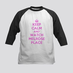 Keep Calm and Watch Melrose Place Kids Baseball Je