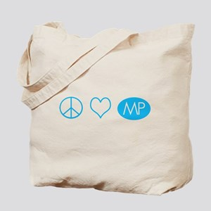 Peace Love Melrose Place Tote Bag
