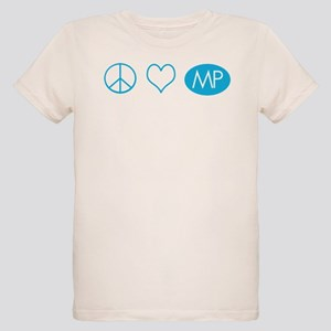 Peace Love Melrose Place Organic Kids T-Shirt