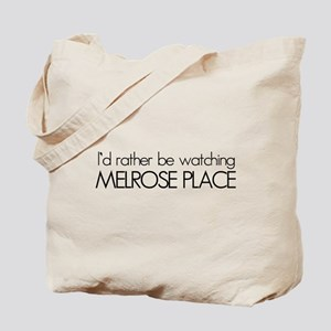 Id rather be watching Melrose Place Tote Bag