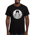 Bizen butterfly Men's Fitted T-Shirt (dark)