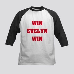 WIN EVELYN WIN Kids Baseball Jersey