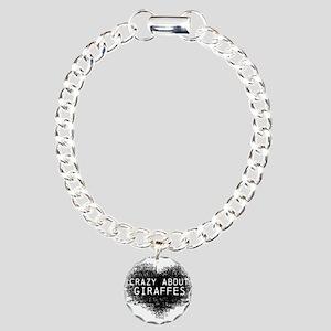 Giraffes Charm Bracelet, One Charm