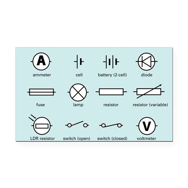 Electrical Symbols Standard Schematic Symbols Electrical Wiring