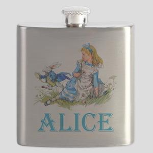 ALICE IN WONDERLAND - BLUE Flask