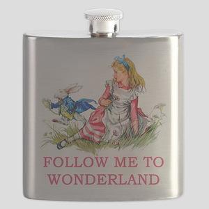 ALICE - Follow Me To Wonderland Flask