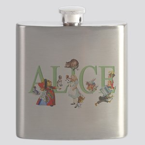 ALICE AND FRIENDS Flask