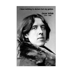 Playwright Oscar Wilde Posters