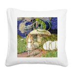 Alice Woodward007x.png Square Canvas Pillow